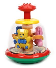 Kids Zone Push And Spin Bear