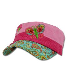 Stephen Joseph Signature Collection Cap Butterfly - Pink
