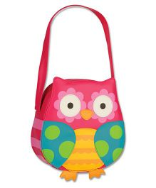 Stephen Joseph Go Go Purse Owl - Multicolor