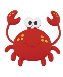 Stephen Joseph Animagnet Crab - Red