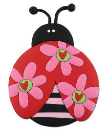Stephen Joseph Animagnet Ladybug - Red And Multicolor