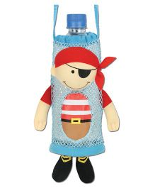 Stephen Joseph Bottle Holder Buddies Pirate - Blue