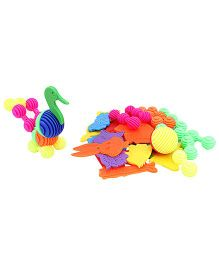 Buddyz Animal Safari Non Toxic Multi Color - 37 pieces