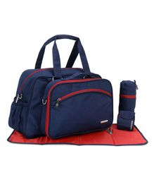 My Milestones Diaper Bag Duo Detach - Navy Blue
