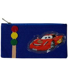 Li'll Pumpkins Car Design Stationery Pouch - Blue