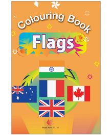 Colouring Book Flags - English