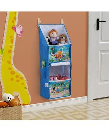 Disney Multipurpose Foldable Hanging Rack - Blue