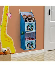 Mickey Mouse And Friends Foldable Hanging Rack - Blue