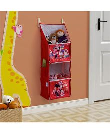 Minnie Mouse Divas Multipurpose Foldable Hanging Rack - Red