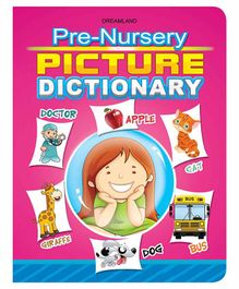 Pre-Nursery Picture Dictionary - English