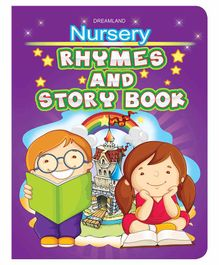Nursery Rhymes & Story Book - English