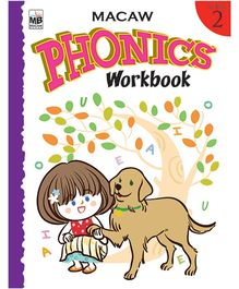 Macaw Phonics Workbook Level 2 - English