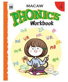 Macaw Phonics Workbook Level 4 - English