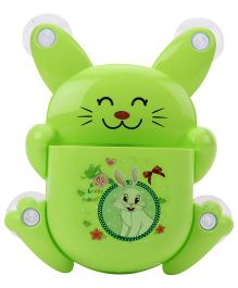 Rabbit Toothbrush Stand - Green