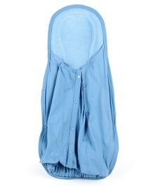 Hoopa Hooded Feeding Pillow Cum Carrier - Blue