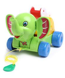 Kids Zone Timmy Elephant Pull Toy