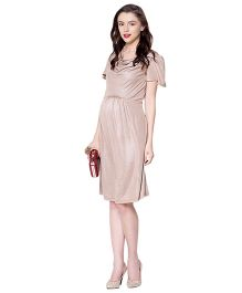 Mamacouture Maternity Dress -  Golden