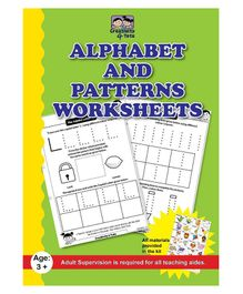 Creativity 4 Tots Alphabet And Pattern Writing 34 Working Sheets - English