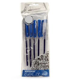 Nataraj Gelix Gel Pen - Pack Of 5