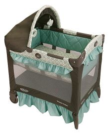Graco Pack n Play Travel Lite Crib Winslet - Green