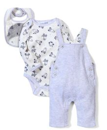 Vitamins Baby Rompers & Onesie Set - Grey