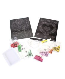 Art And Fun Sequin Flower Design Kit