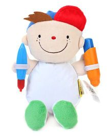 K's Kids What To Wear Doodle Doll - Wayne