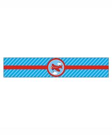 Prettyurparty Airlines Wrist Bands - Blue