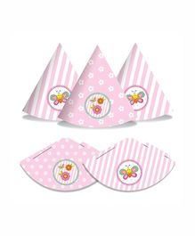 Prettyurparty Butterfly Party Hats- Pink