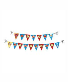 Prettyurparty Carnival Bunting- Multi color