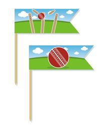 Prettyurparty Cricket Toothpicks - Pack Of 20