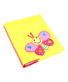 Little Pipal Butterfly Mini Photo Album - Yellow