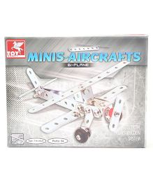 Toy Kraft Minis Aircrafts BI Planes - 54 Pieces