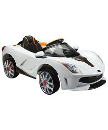Marktech B Wild Tesla 116 Battery Operated Ride On - White