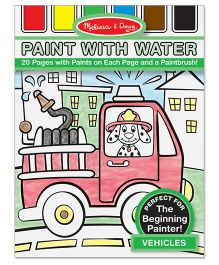 Melissa & Doug Vehicles Paint with Water - Multicolor