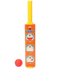 Doraemon Cricket Set (Color & Print May Vary)