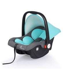 R for Rabbit Picaboo Rear Facing Infant Car Seat Cum Carry Cot - Grey And Blue