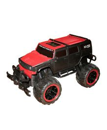 Adraxx Super Cross country Remote Controlled Racing Car Toy - Red