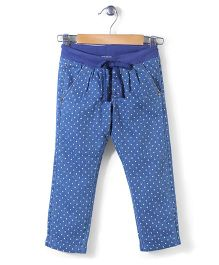 Sela Full Length Pants - Blue