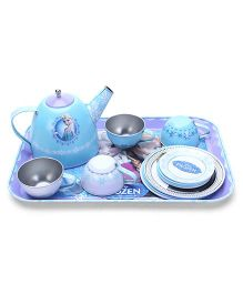 Smoby Disney Frozen Tea Set - Blue (Print And Color May Vary)