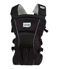 LuvLap 2 Way Baby Carrier Blossom Black - 18172