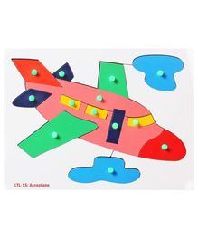 Little Genius - Wooden Aeroplane Board