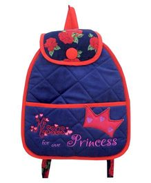 Little Pipal Junior Backpack Red And Pink -  14 Inches
