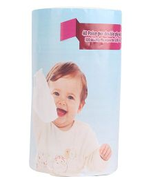 Adore 2 Ply Baby Dry Wipes - 320 Pieces