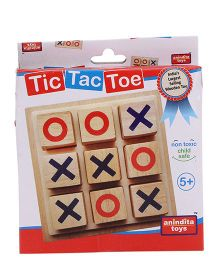 Anindita Toys Tic Tac Toe Game Set  - Multicolor