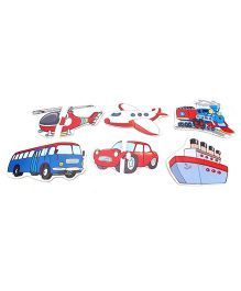 Anindita Toys Toddler Puzzles - Transport