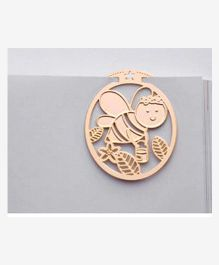 EZ Life Honey Bee Bookmark - Golden