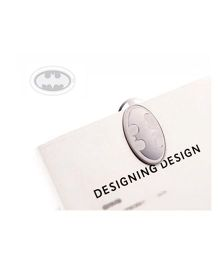 EZ Life Superhero Bookmark - Silver