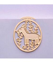 EZ Life Pony Bookmark - Gold