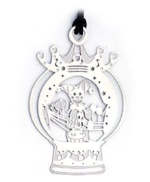 EZ Life Circus Clown Bookmark - Silver